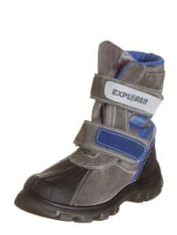 Naturino Stiefel in grau/ blau/ anthrazit