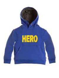 Paglie Sweatshirt in Blau/ Gelb