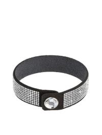 """VIPDELUXE Armband mit Swarovski-Kristallen """"London"""" in Schwarz"""