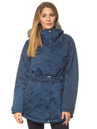 First B Parka in Blau