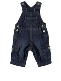 Steiff Jeans-Latzhose in Dunkelblau
