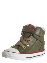 "Converse Leder-Chucks ""CT LOOPBACK MID"" in Khaki"
