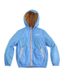 Geox Jacke in Hellblau/ Orange
