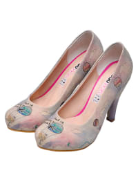 "Dogo Pumps ""Take me to my dreams"" in Beige/ Bunt"