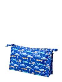 Rice Kosmetiktasche in Blau - (B)29 x (H)18 x (T)7 cm