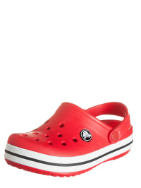 "Crocs Clogs ""Crocband Kids"" in Rot/ Schwarz"