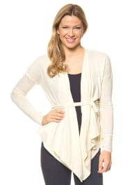 "Blutsgeschwister Cardigan ""Hang Loose Swingigan"" in Creme"