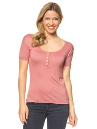 "Blutsgeschwister Shirt ""Button Me Up Knöpfle"" in Rosa"