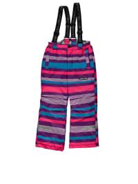 "Legowear Skihose ""Percey 655"" in Lila/ Pink/ Hellblau"