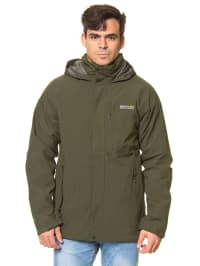 "Regatta 3-in-1 Funktionsjacke ""Northfield"" in Khaki"
