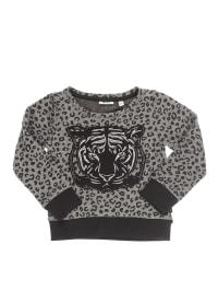 Mexx Sweatshirt in Grau/ Schwarz