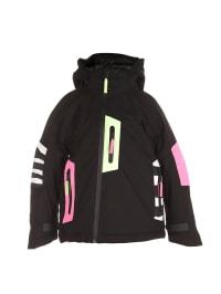 """Molo Ski-/ Snowboardjacke """"Hassel"""" in Schwarz/ Pink/ Gelb"""