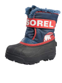 "Sorel Winterstiefel ""Snow Commander"" in Blau/ Rot"