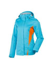 "Ziener Ski-/ Snowboardjacke ""Tilac"" in Türkis/ Orange"
