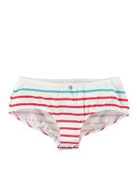 Schiesser Panty in Weiß/ Rot/ Türkis