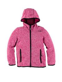 CMP Strickfleece-Jacke in Pink