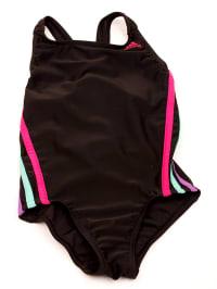 Adidas Badeanzug in Schwarz/ Pink/ Mint