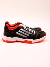 Adidas Sportschuhe in Schwarz/ Weiß/ Orange