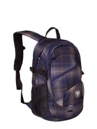 "Chiemsee Rucksack ""Techpack"" in Dunkelblau/ Beige - (B)31 x (H)47 x (T)18 cm"