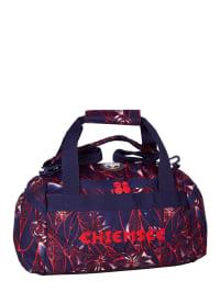 """Chiemsee Sporttasche """"Matchbag S"""" in Dunkelblau/ Rot - (B)44 x (H)22 x (T)21 cm"""