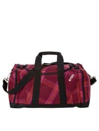 """4YOU Sporttasche """"Igrec"""" in Rot/ Pink/ Schwarz - (B)43 x (H)24 x (T)28 cm"""