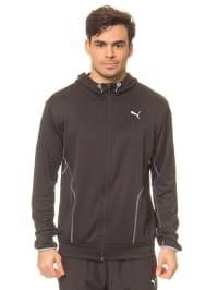 Puma Trainingsjacke in Schwarz