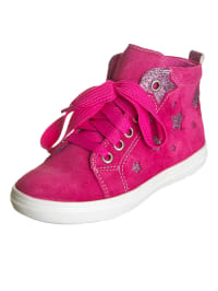 Richter Shoes Leder-Sneakers in Pink