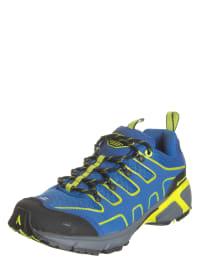 """Alpine Pro Sportschuhe """"Springbok Ultra LGT"""" in Blau/ Schwarz/ Gelb"""