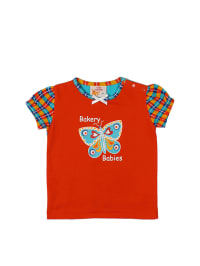Dutch Bakery Shirt in Orange/ Hellblau