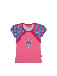 Dutch Bakery Shirt in Pink/ Hellblau/ Fuchsia