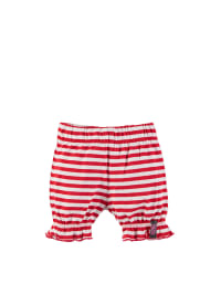 ZieZoo Shorts in Rot/ Weiß