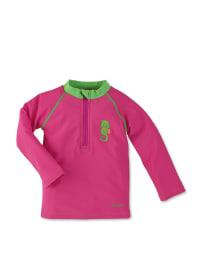 Sterntaler Schwimmshirt in Pink/ Grün