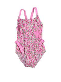 Needs Badeanzug in Pink/ Weiß/ Grün