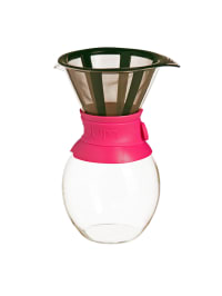 """Bodum Kaffeebereiter """"Pour Over"""" in Pink - 1,5 l"""