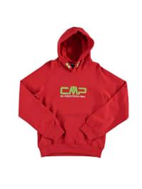 CMP Kapuzenpullover in Rot