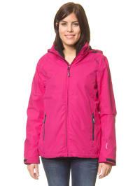 CMP 2in1-Jacke in Pink/ Schwarz