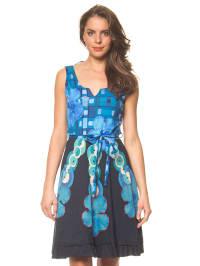 "Desigual Kleid ""Elian"" in Dunkelblau/ Blau"