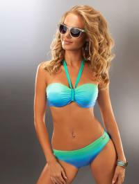 """Aquarilla Bikini """"Bahama"""" in Blau/ Mint"""