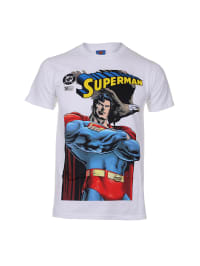 "DC Comics Shirt ""Superman With Falcon"" in Weiß/ Bunt"