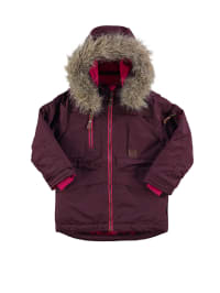 "Color Kids Funktions-Parka ""Thunder"" in Bordeaux/ Pink"