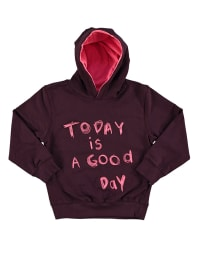 "Color Kids Sweatshirt ""Troon"" in Bordeaux"