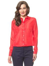 Hilfiger Seiden-Bluse in Rot