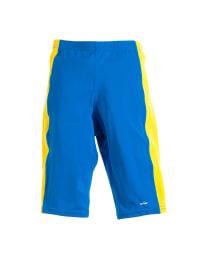 Elemar Badehose in Blau/ Gelb