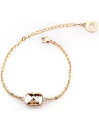 PARK AVENUE NY Vergold. Armkette mit Swarovski-Kristall