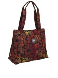 """Chiemsee Shopper """"Shopper"""" in Rot/ Orange - (B)43,5 x (H)35 x (T)18,5 cm"""