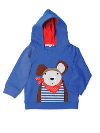 "Olive & Moss Sweatshirt ""Douglas the Dog"" in Blau/ Bunt"