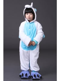 "Jumpsuits for kids Jumpsuit ""Blue Unicorn"" in Weiß/ Hellblau"
