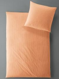 """Irisette Satin-Bettwäsche-Set """"Aurum"""" in Orange"""