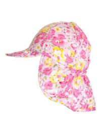 Döll Nackenschutzmütze in Pink/ Bunt