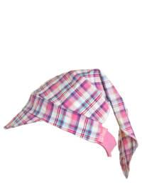 Döll Kopftuch in Pink/ Weiß/ Lila